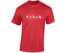 Poker Cards Mens Funny T-Shirt (12 Colours)
