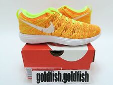 DS NIKE WMNS FLYKNIT 1 TRAINER 638426 700 VOLT ORANGE