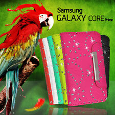 Glitter Wallet Flip Bling Case Cover For Samsung Galaxy Core Prime G3608 360G