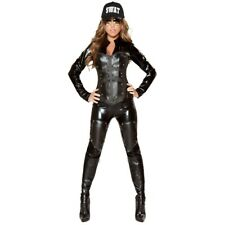 Sexy SWAT Costume Adult Cop Police Halloween Fancy Dress