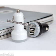 Rapid Dual USB Car Charger 2.1A &1A Output Samsung Galaxy s6 S5 S4 S3 Note 4 3 2