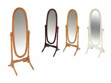 Cheval Mirror In Mahogany White Pine Antique free standing mirrors