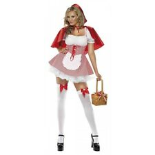 Red Riding Hood Costume Adult Womens Sexy Storybook Fancy Dress Halloween