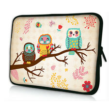 "Owl 10"" 10.2"" Sleeve Case Bag Cover For 9.7""-10.2"" inch Netbook Laptop Tablet PC"