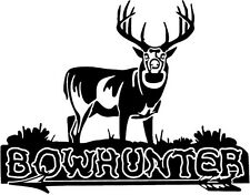 Whitetail Buck Antlers - Arrow Deer Hunting Bowhunter Bowhunting decal sticker