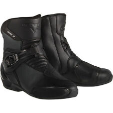 Alpinestars SMX 3 Vented Black Racing Sport Mens Street Riding Motorcycle Boots