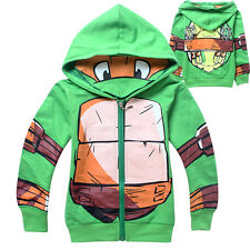 Teenage Mutant Ninja Turtles Clothing Kids Boys Hoodies Jacket Coat Outerwear