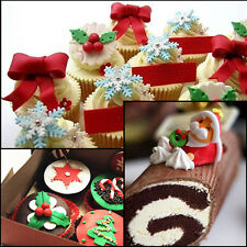 Christmas Cake Decorating Cutter Mold Cookie Baking Mould Sugarcraft Tool