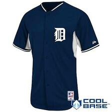 NWT Majestic Detroit Tigers MLB Youth Cool Base Batting Practice Jersey - Navy