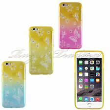 Durable Bling Rhinestone Diamond Soft Case Cover Skin For Apple iPhone 6 4.7""