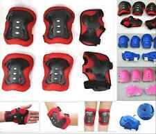 Kid Roller Skating Skate board Pads Roller Shoes Elbow Knee Wrist Pad Guards