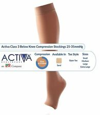 Activa Class 3 Below Knee Compression Stockings 25-35mmHg - Open Toe - 1 Pair