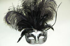 Masquerade Ball Feather Mask Wedding dance Graduation Halloween Costumes Party