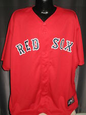 MLB Boston Red Sox Baseball Alternate Red Jersey Shirt Womens Sizes Majestic