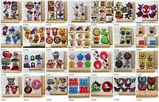 New DIY Embroidered Iron On/Sew On Patches Badge Motif Appliqué Kids Gifts