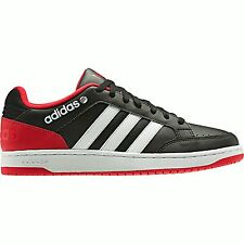 ADIDAS NEO LABEL HOOPS LO MENS TRAINERS BLACK UK SIZE 7 - 12