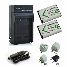 Battery / Charger Kits for Sony HDR-AS200V HDR-AS200V/W HDR-AS200VR/W Action Cam