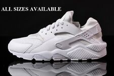 Nike Air Huarache Triple White 2015 Sizes UK 5 6 7 8 9 10 11 12 13 Limited Crep