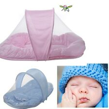 Portable Baby sleep  Bed Crib Folding Mosquito Net Infant Cushion Mattress tent