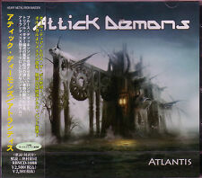 ATTICK DEMONS Atlantis + 1 JAPAN CD Bruce Dickinson Ross The Boss Iron Maiden