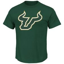 "South Florida Bulls NCAA Majestic ""Football Icon"" Men's Green T-Shirt"