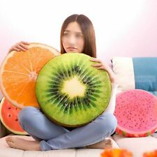 Fruit Soft Home Office Round Pillow Plush Dining Cushion Chair Seat Buttocks Pad