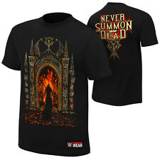"WWE UNDERTAKER ""NEVER SUMMON THE DEAD"" OFFICIAL T-SHIRT NEW (ALL SIZES)"