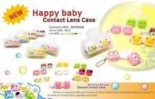 3D Square Animal Contact Lens Case
