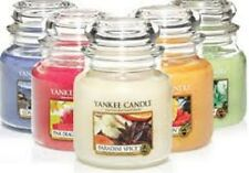 Yankee Jars Medium Fragrances A to L - Free Delivery