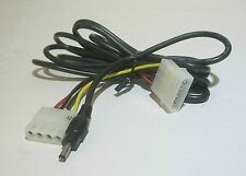 NEW 4-Pin PC Molex to 5V 3.4mm Jack Connector Charger fo Nokia Cell Mobile Phone
