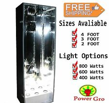 hydroponic grow cabinet stealth box 4FT hydroponic Free Shipping 800 Watts