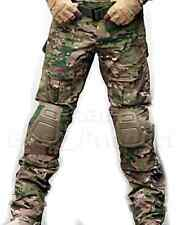 Tactical Airsoft Shooting Hunting Paintball Combat Pants Knee Pads Multicam MC