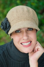 Ellie Newsboy Cap for Women with Cancer, Chemo, and Alopecia
