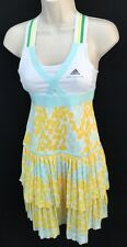ADIDAS CLIMACOOL STELLA  McCARTNEY BARRICADE TENNISDRESS MULTI SIZES YELLOW $120