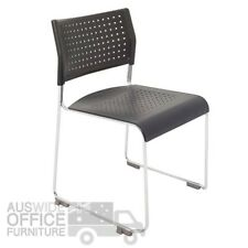 Rapidline Visitor Conference Chair Poly Wimbledon Tablet Option Office Furniture