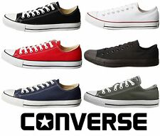 CONVERSE Chuck Taylor All Star Low Top Shoes Unisex Canvas Sneakers.//