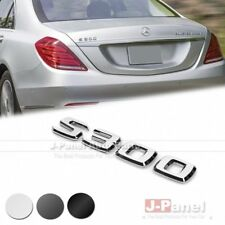 S300 REAR TRUNK BOOT LETTER EMBLEM BADGE for MERCEDES BENZ S CLASS W221 W222 AMG