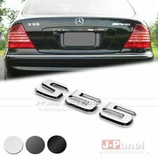 S55 REAR TRUNK LETTER EMBLEM BADGE STICKER for MERCEDES BENZ S CLASS W220 AMG