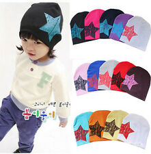 Unisex Baby Boy Girl Toddler Infant Children Cotton Soft Cute Hat Cap Beanie CLT