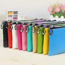 New Women Wristlet Wallet Lady Credict Card Coin Long Wallet Clutch Zipper Purse