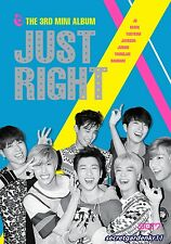 GOT7 JUST RIGHT 3rd Mini Album :: CD+84p booklet+Photocard+Photo+Poster+Gift New