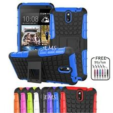 Heavy Duty Tough Kick Stand Strong Case Cover for HTC Desire 610