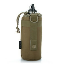 Outdoor Sport Tactical Gear Military Water Bottle Bag Kettle Pouch With Backpack