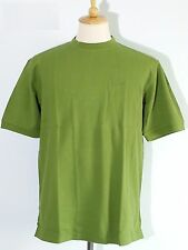 *NEW Patagonia Stretchy Tee Shirt Short-Sleeve Men's Green 100% Organic Cotton M