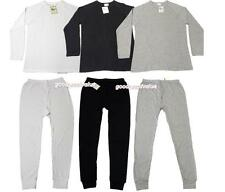 2pcs Mens Cotton Thermal Top/ Long Sleeve Spencer + Long Johns/ Pants Underwear