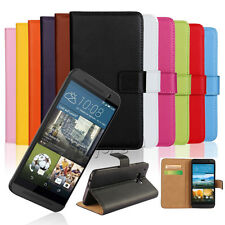 Flip Leather Luxury Magnetic Wallet Card Holder Case Cover For HTC One Phone New