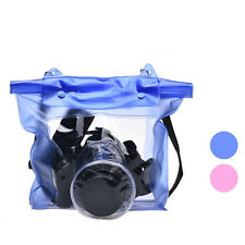 WATERPROOF CAMERA DSLR CASE Underwater Fine Pouch Bag Perfect For Canon For Sony