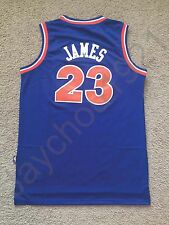 LeBron James #23 Cleveland Cavalier SWINGMAN Sewn On Retro JERSEY MEN S-L NWT