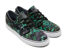 Nike SB Zoom Janoski Canvas Prem Palm Leaves Gorge Green/Black - NWT 705190-301
