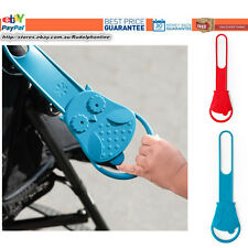 New Skip Hop Walk-Along Stroller Handle safety kids red and blue owl baby safty